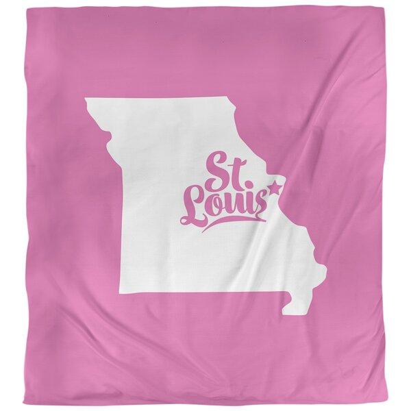 Missouri St. Louis Single Duvet Cover