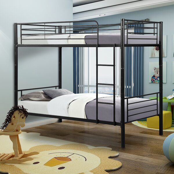 Canterbury Twin over Twin Bunk Bed by Harriet Bee