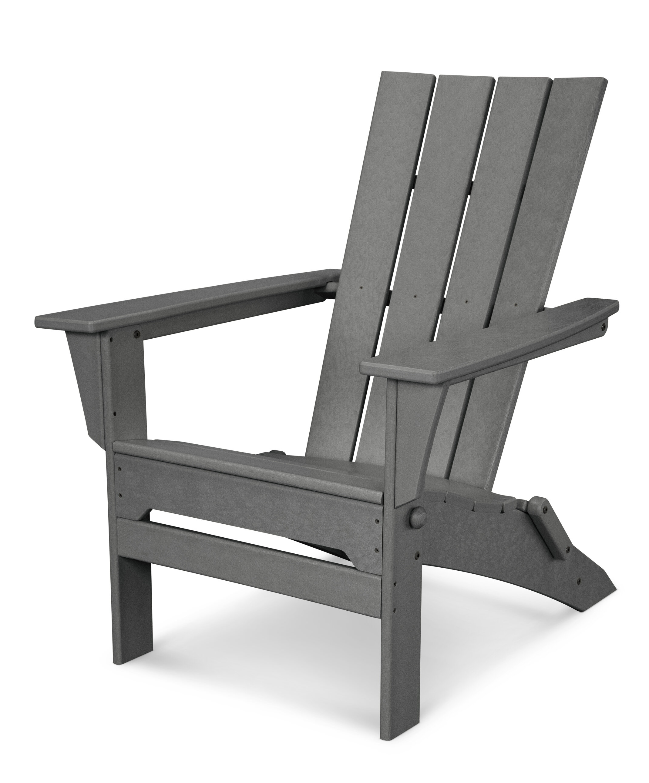POLYWOOD® Quattro Plastic Folding Adirondack Chair U0026 Reviews | Wayfair