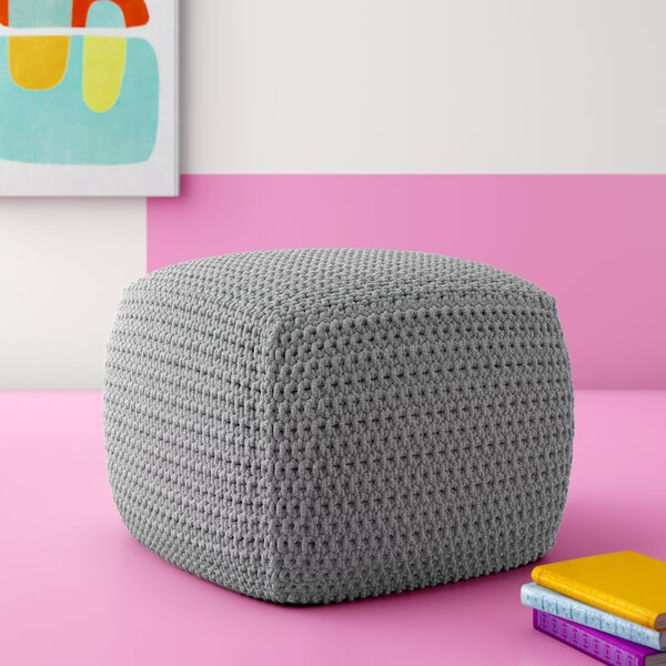 Seline Knitted Pouf by Hashtag Home