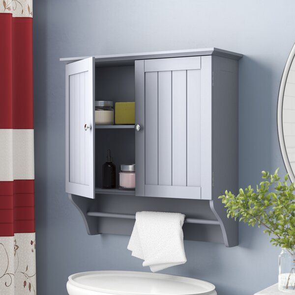 Arledge 23.82 W x 25.44 H Wall Mounted Cabinet by Andover Mills