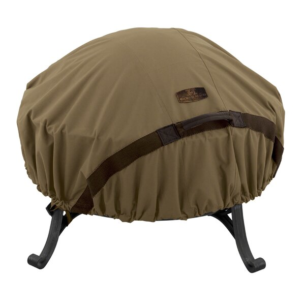 Hickory Heavy-Duty Fire Pit Cover by Classic Accessories