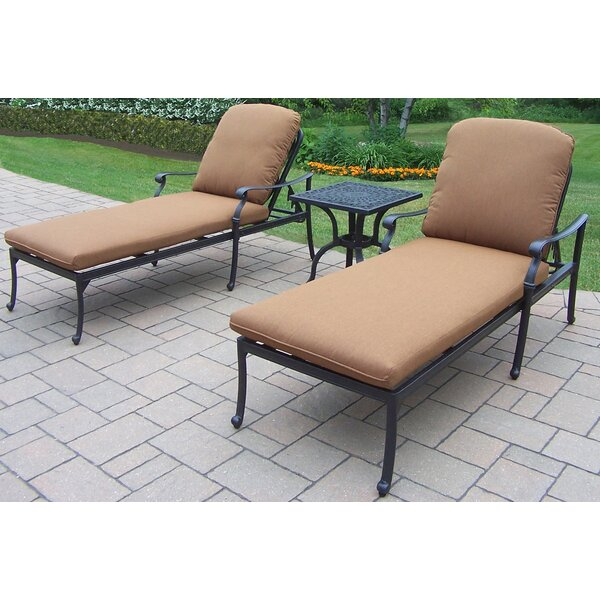Bosch 3-Piece Chaise Lounge Set by Darby Home Co