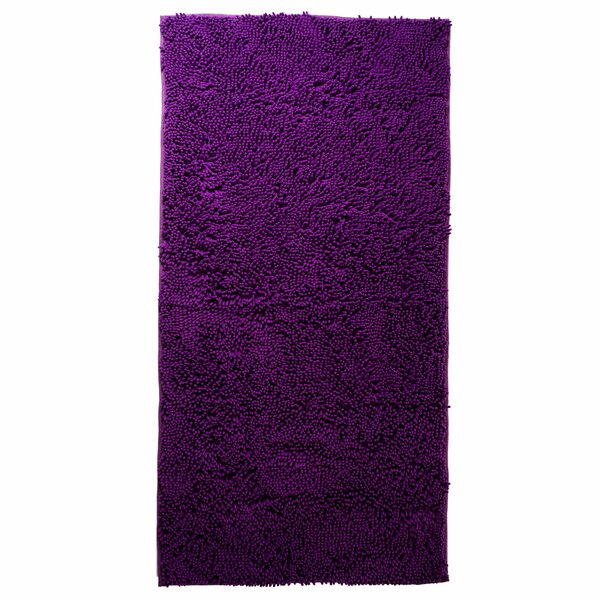 Jami High Pile Purple Solid Area Rug by Zipcode Design
