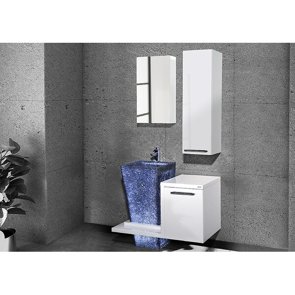 Whitechapel 37 Single Bathroom Vanity Set with Mirror by Orren Ellis