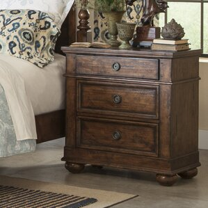Peatman 3 Drawer Nightstand by August ..