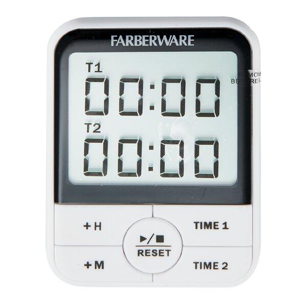 Protek Dual Event Digital Timer by Farberware