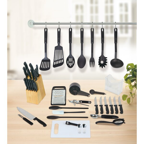 Studio 707 51 Piece Kitchen Essentials Set by Linen Depot Direct
