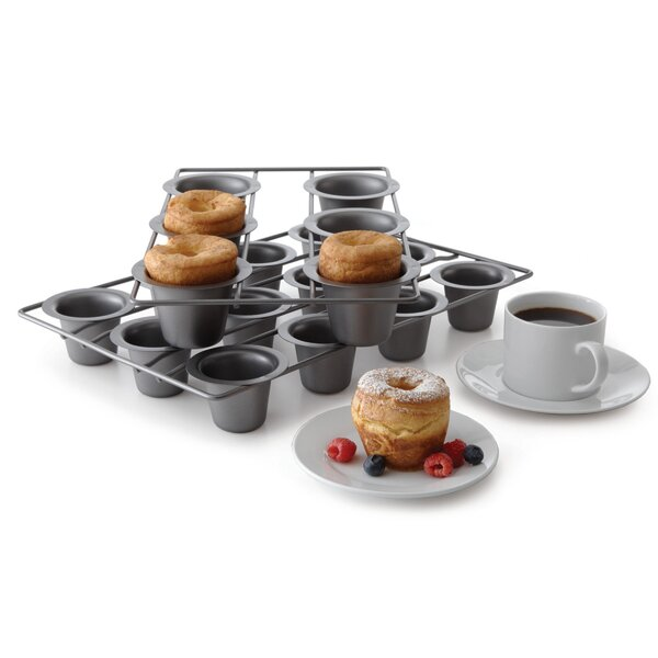 6 Cup Non-Stick Speciality Popover Muffin Pan by Chicago Metallic
