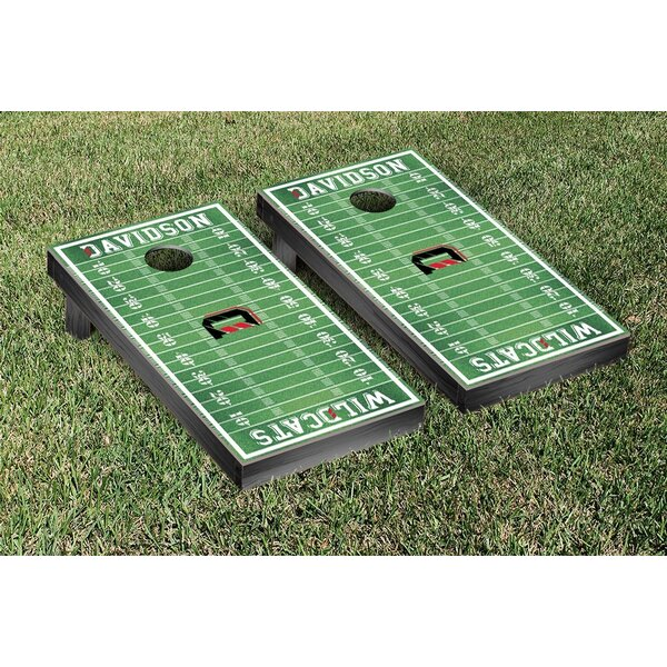 NCAA Football Field Version Cornhole Game Set by Victory Tailgate