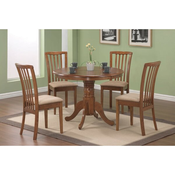 Lees 5 Piece Dining Set by Alcott Hill