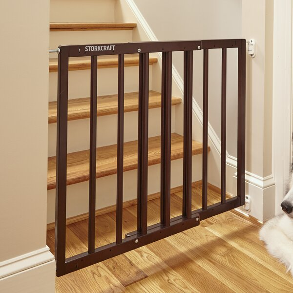 Easy Walk-Thru Wooden Safety Gate by Storkcraft
