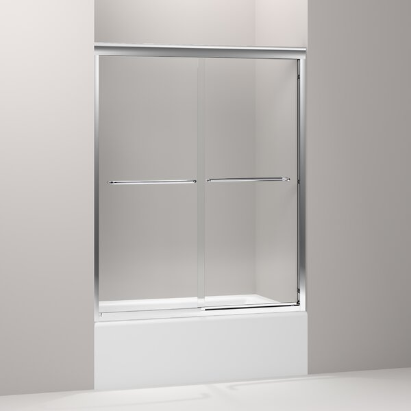 Fluence 52 x 63 Bypass Bath Door with CleanCoat® Technology by Kohler