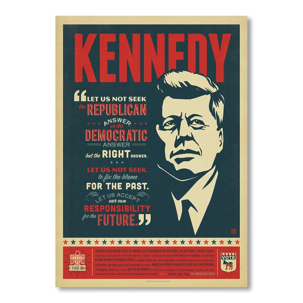 Kennedy Vintage Advertisement by East Urban Home