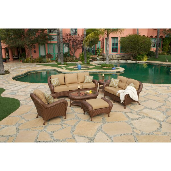 Kashton Loveseat with Cushions by Bay Isle Home