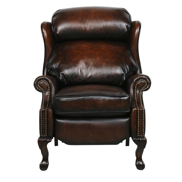 Donatella Leather Recliner by Astoria Grand