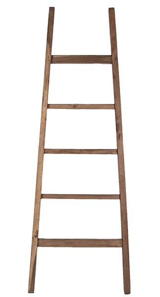 Teak Arch 6 ft Decorative Ladder by Ibolili
