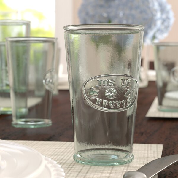Cartensen 11 oz. De Fruit Glass (Set of 6) by Three Posts