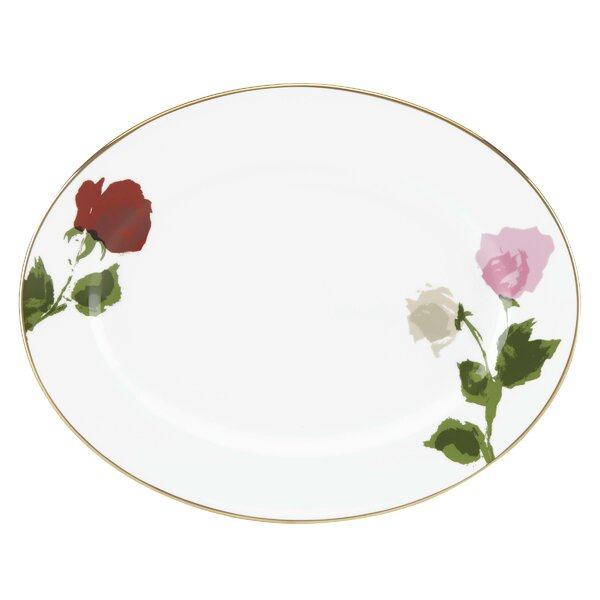 Rose Park Oval Platter by kate spade new york