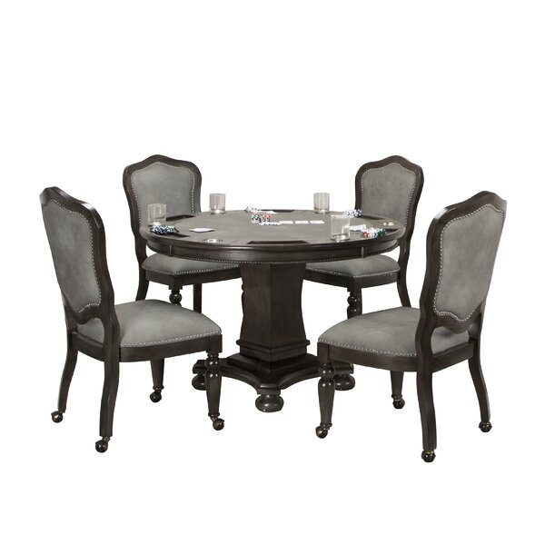 Oroville Reversible Flip Top 5 Piece Dining Set by Canora Grey