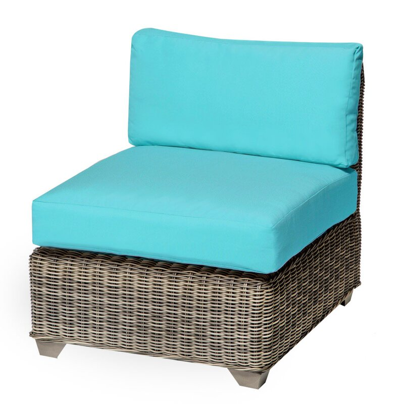 Cape Cod Armless Chair With Cushions