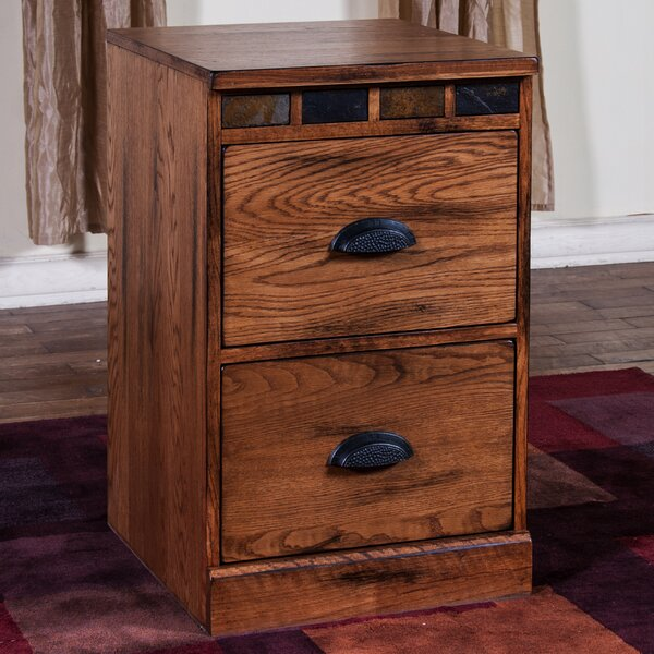 Fresno 2 Drawer Accent Chest by Loon Peak