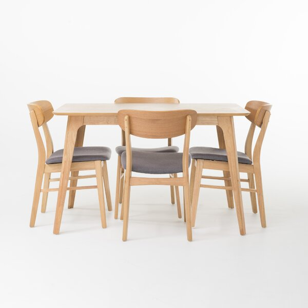 Canning 5 Piece Dining Set By Langley Street Fresh