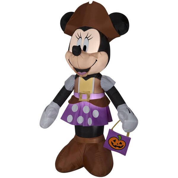Minnie as Pirate Inflatable with Treat Sack MD Disney (WMCA) by The Holiday Aisle