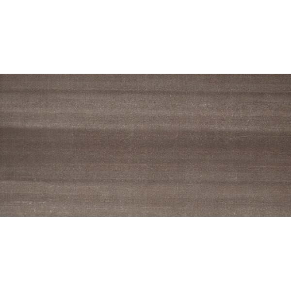 Perspective 12 x 24 Porcelain Fabric Look/Field Tile in Brown by Emser Tile