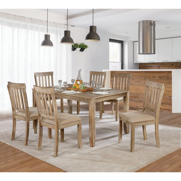 Orsi 7 Piece Dining Table Set by Loon Peak
