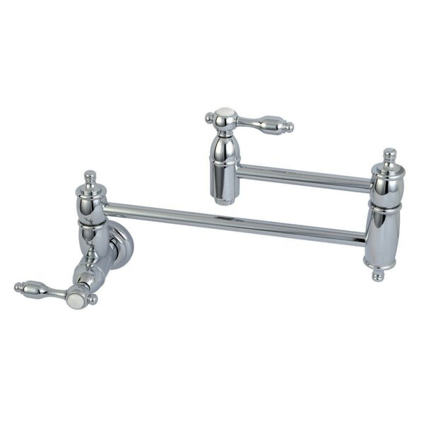 Tudor Wall Mounted Pot Filler by Kingston Brass