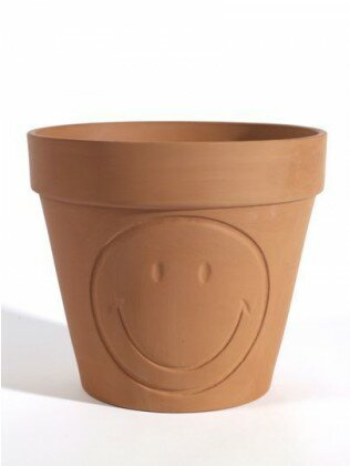 Allshouse Smiley Ceramic Pot Planter by Wrought Studio