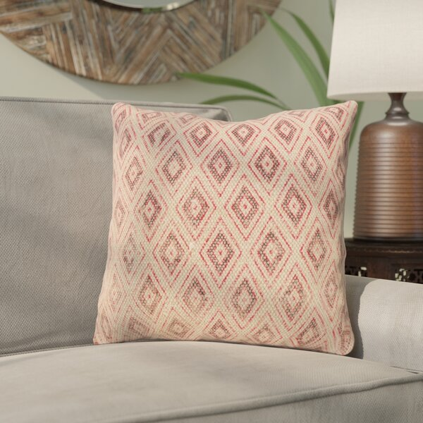 Rupert Hex Square Down Filled Throw Pillow by Bungalow Rose