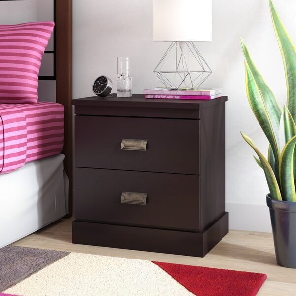 Gloria 2 Drawer Nightstand by South Shore