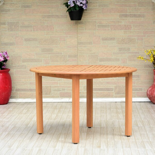 Cyr Eucalyptus Dining Table by Charlton Home
