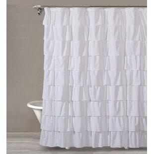 Keeter Ruffle Shower Curtain
