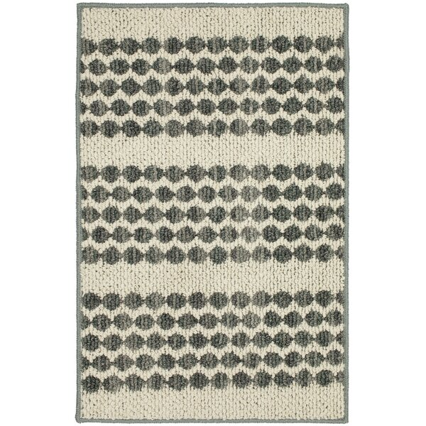 Mulder Denim/Cream Area Rug by Ebern Designs