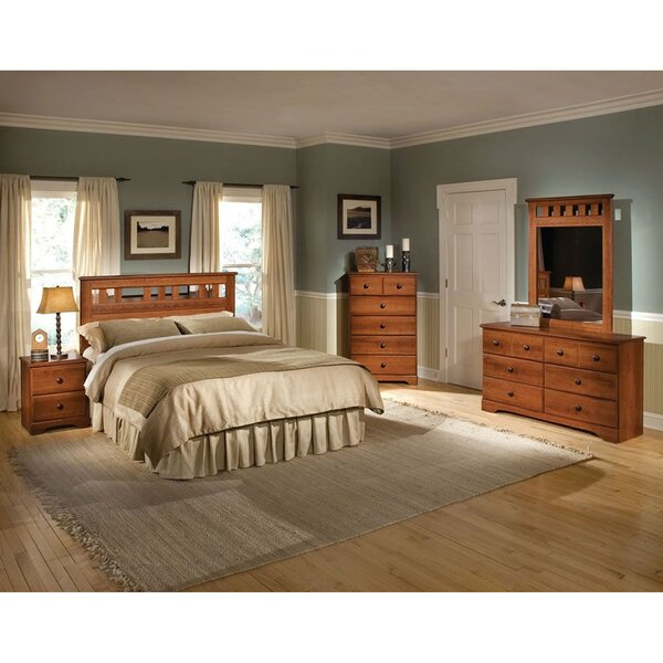 Suffield Queen Panel 5 Piece Bedroom Set by Alcott Hill