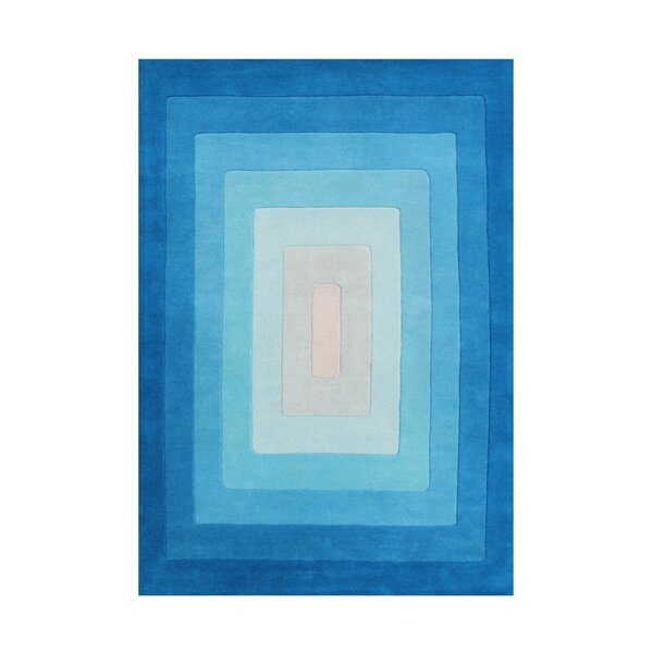 Alliyah Handmade Blue Area Rug by Bridget Moynahan: Curator for a cause
