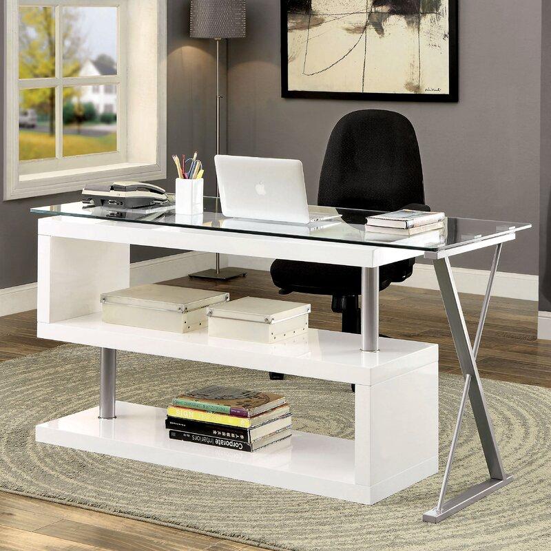Brayden Studio Folden Writing Desk Amp Reviews Wayfair
