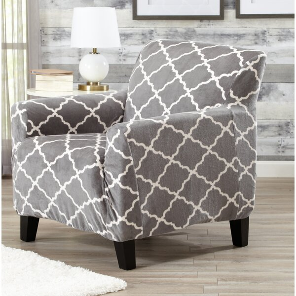 T Cushion Armchair Slipcover By Alcott Hill.