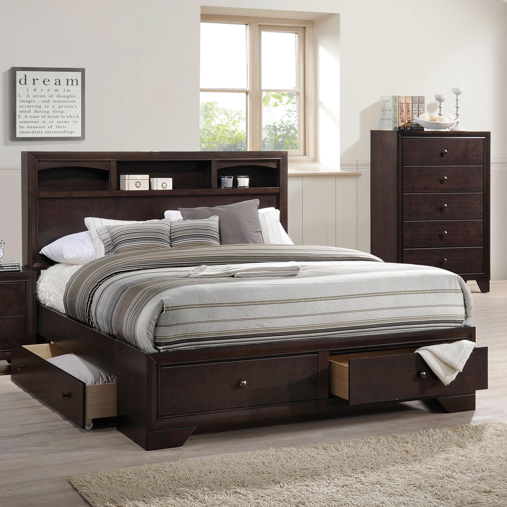 acme furniture madison ll storage platform bed reviews wayfair