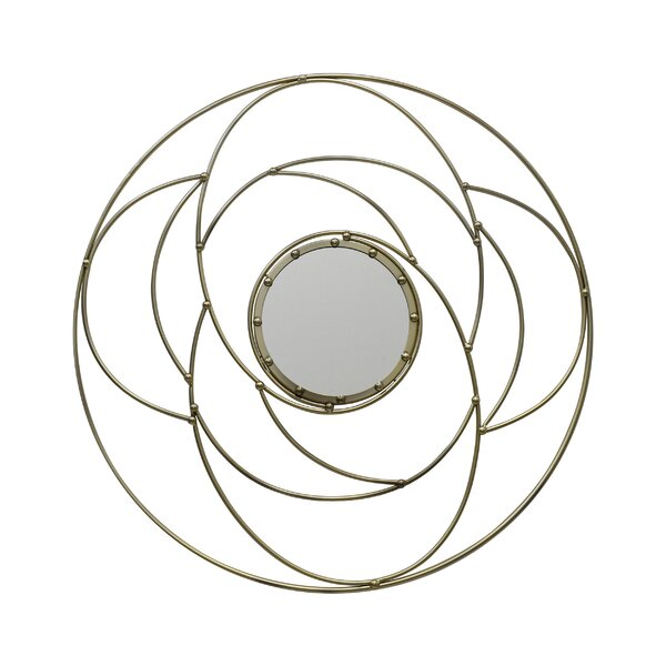 Mabie Circular Accent Mirror by Mercer41