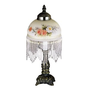 Great choice Rose Bouquet Fringed 8 Table Lamp By Meyda Tiffany