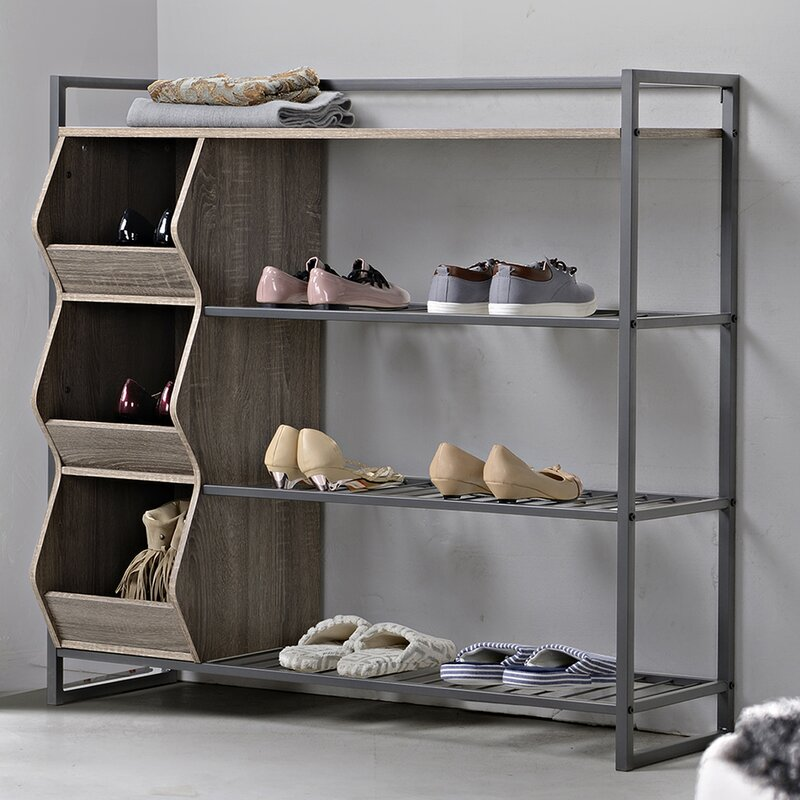 Homestar 12 Pair Shoe Rack & Reviews
