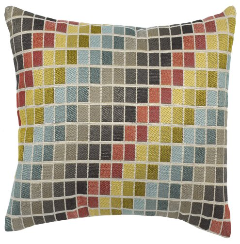 Canyon Creek Tetris Throw Pillow by Mercury Row