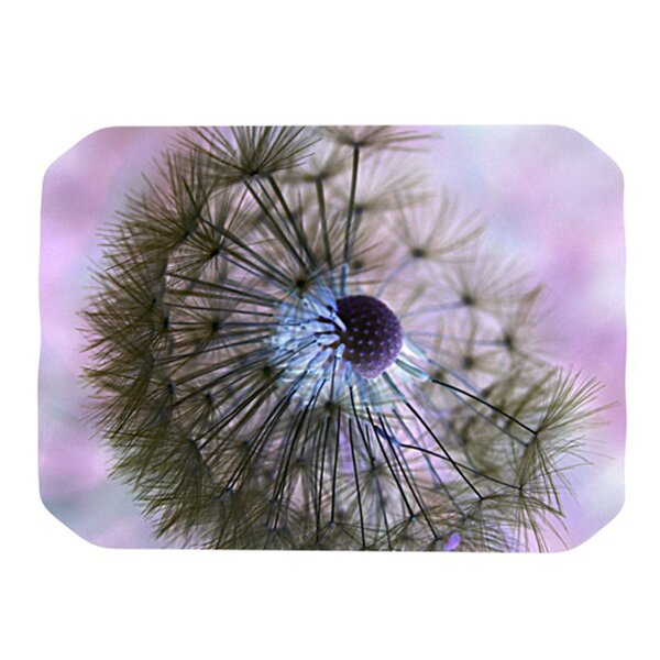 Dandelion Clock Placemat by KESS InHouse