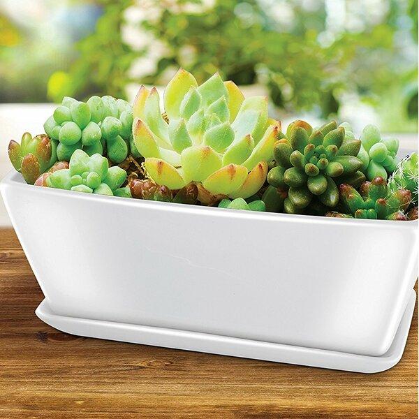 2-Piece Ceramic Pot Planter Set by Kovot