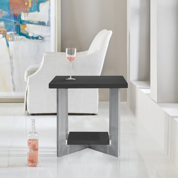 Herrmann End Table by Orren Ellis