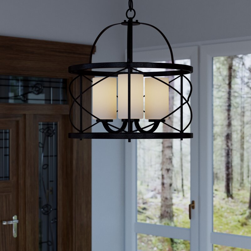 Lagrosa 3 light foyer pendant reviews joss main lagrosa 3 light foyer pendant aloadofball Images